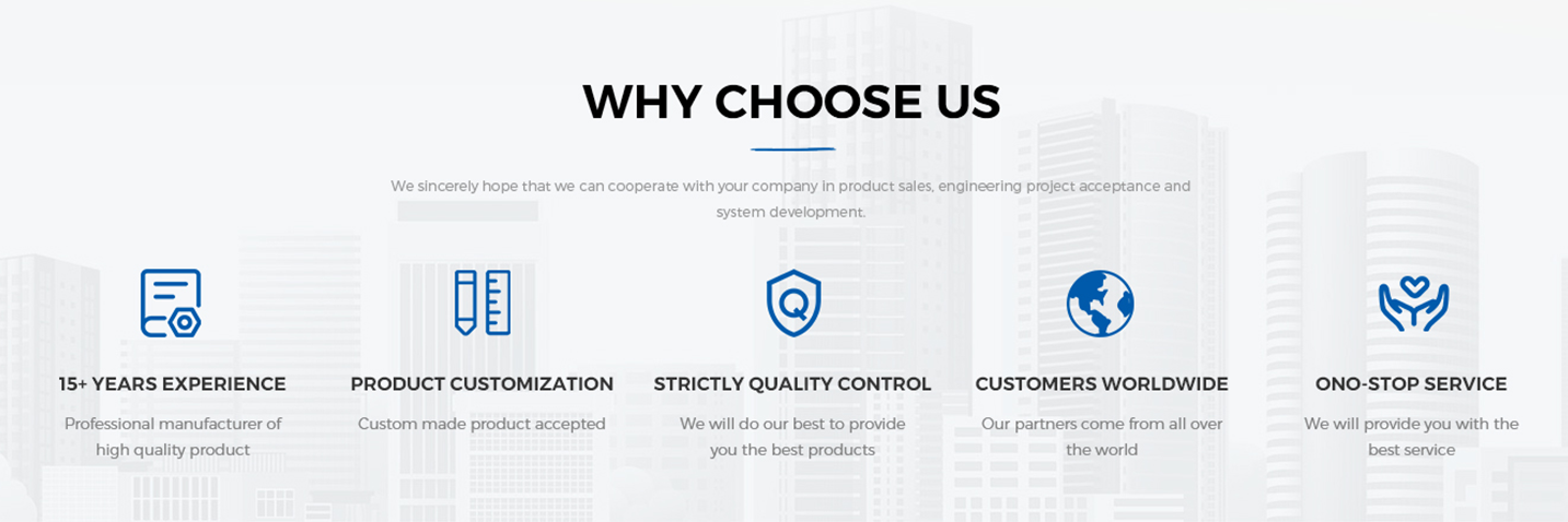 WHY CHOOSE US - CENHOT
