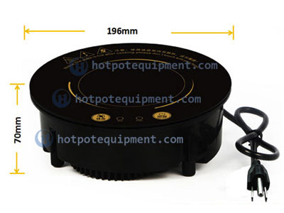 CENHOT Built-in Round Induction Stove For Hot Pot 800W H6C SIZE