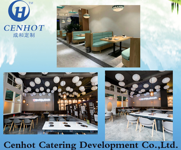 How to choose hot pot table and chair color