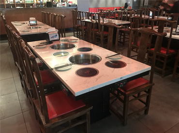 How to choose specific heating equipment for hot pot restaurants