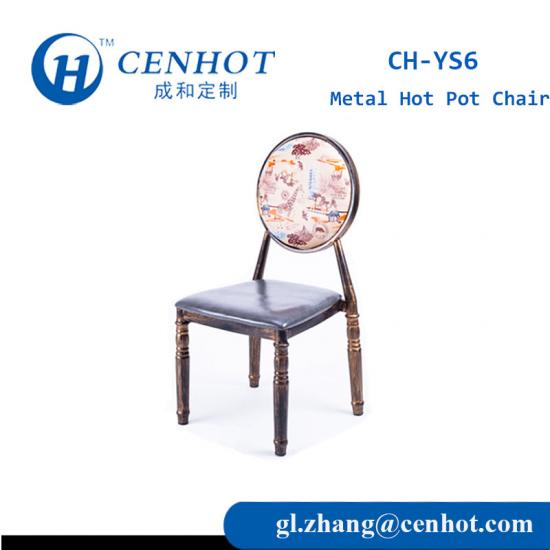 Metal Hot Pot Chair For Restaurant Manufacturer - CENHOT