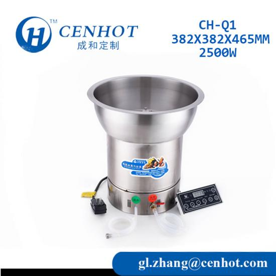 Intelligent Frequency Conversion 2 in 1 Steamer Hotpot Manufacturers - CENHOT