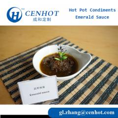 China Traditional Spicy Emerald Sauce Hotpot Condiments Wholesale - CENHOT