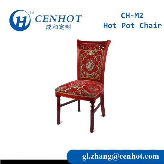 Restaurant Wooden Hot Pot Chairs Dining Chairs Seating Wholesale - CENHOT