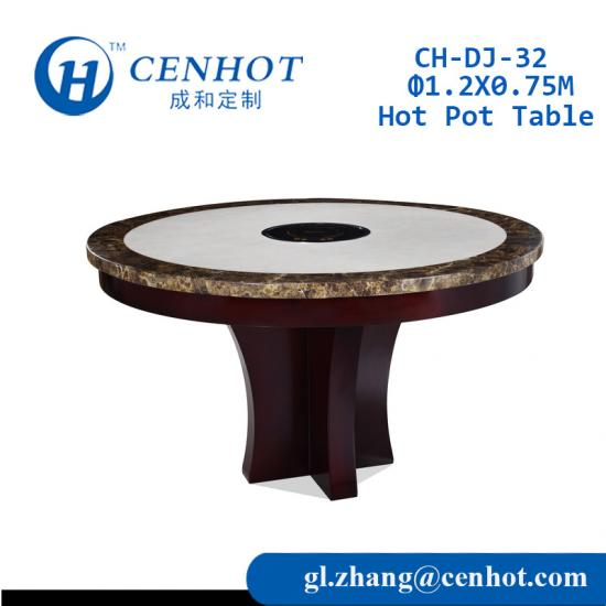 Top Quality Chinese Hot Pot Table Manufacturers - CENHOT