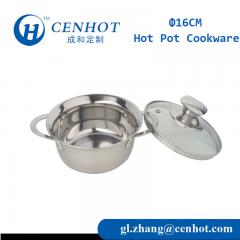 Stainless Steel Small Hot Pot Stockpot For Restaurant Supply - CENHOT