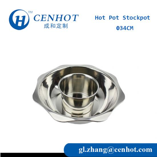 New Style Stainless Steel Hot Pot Stockpot,Hot Plate Cooker Pot,Soup Pot - CENHOT