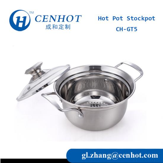 Stainless Steel Hot Pot Soup Pot Suppliers China