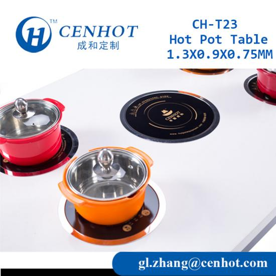 Restaurant Hot Pot Table Suppliers China - CENHOT