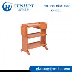 Commercial Wooden Kitchen Cart For Restaurant Manufacturers China - CENHOT