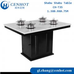 Shabu Shabu Table For Hot Pot Manufacturing In China