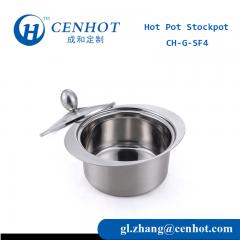 Stainless Steel Shabu Shabu Soup Pots For Hot Pot
